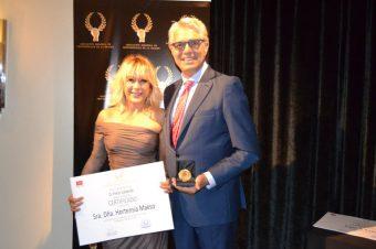 Hortensia Maeso recibe la Medalla de Oro de los Profesionales de la Imagen