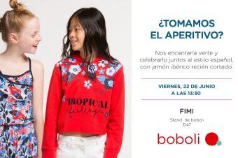 """boboli presentará en FIMI su colección PV19 """"Tropical life"""""""